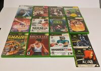 Lot Of 13 Microsoft XBOX Video Games - Very Good Condition