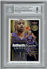 Morris Peterson & Vince Carter 2000-01 Fleer Authority Figures 499 #AF6 BGS 9