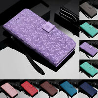 For Samsung Galaxy J2 J3 J4 J6 J7 Magnetic Flip Stand Card Wallet Leather Cover
