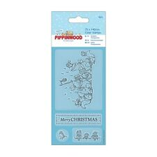Canto Transparente Sello-pippinwood Navidad-docrafts