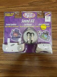Intec Value Pak Sound Kit for Gameboy Advance BRAND NEW