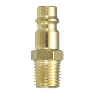 1/4 BSP Male Adapter Stecker Druckluftkupplung Schnellkupplung Schlauchtülle B