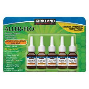 Kirkland Aller-Flo Nasal Spray Fluticasone 50mcg Flonase Allergy Relief, 15.8 mL