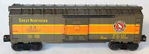 "Vintage LIONEL Postwar Boxcar #6464-450 ""GREAT NORTHERN"""