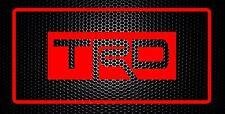 """TRD  JDM ALUMINUM LICENSE PLATE 6x12"""""""