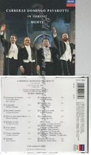 CD--JOSÉ CARRERAS & PLÁCIDO DOMINGO & LUCIANO PAVAROTTI    THE THREE TENORS -