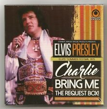 "ELVIS PRESLEY 5 CD ""CHARLIE, BRING ME THE REQUEST BOX!"" 2016 STRAIGHT ARROW 1975"
