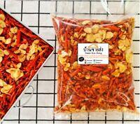 Crispy Chilli Sesame Garlic Fried Roasted Thai Snacks Savory Spicy Hot 500 g.