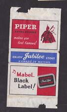 Ancienne étiquette  Allumettes Belgique   BN46035 Rizla Cigarettes Papers