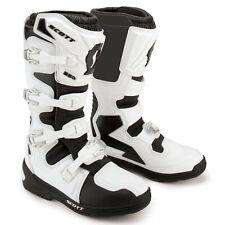 Scott - 250 White/Black Men MX Boots - 12