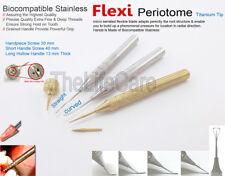 Dental Implant Handpiece Anchor Extraction Screw Flex Periotome Instruments 5Pcs