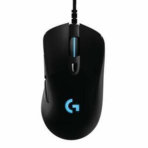 Logitech G403 Hero Gaming Mouse Lightsync RGB 16K DPI Lightweight Rubber Grip CK