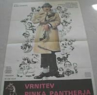 Filmplakat,VRNITEV PINKA PANTHERJA,PINK PANTHER,PETER SELLERS,#28