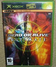 DEAD OR ALIVE ULTIMATE EDITION for MICROSOFT XBOX ORIGINAL Boxed DOA 1 & 2 Discs
