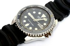 Citizen 4-R15038RC Diver automatic watch , Seiko Japan dial for repairs    -3352