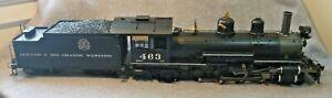 1:20.3 BACHMANN Spectrum K-27 Locomotive...D&RGW #463 w/ #455 Tender...Used