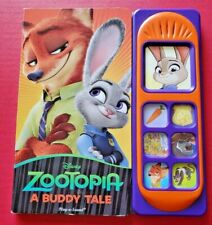 """Zootopia """"A Buddy Tale"""" Play-A-Sound Book"""