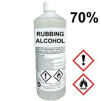 RUBBING ALCOHOL 70%   1 LITRE   Lab Grade   Isopropyl Alcohol/Isopropanol 1L