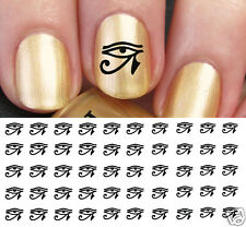 Eye of Horus Egyptian Nail Art Waterslide Decals - Salon Quality!