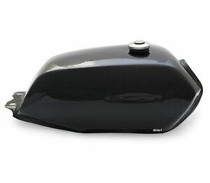 The Manta Cafe Racer Gas / Fuel Tank - Black Motorcycle Retro Scrambler Classic