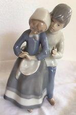 Carl Scheidig Porcelain Figurine Grafenthal GDR Boy & Girl Romance Couple