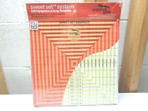 CREATIVE GRIDS Sweet Set System~Quilting Machine & Design Templates~New!