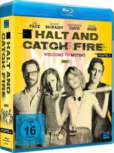 Halt and Catch Fire - Staffel 2 - Episode 01 - 10 [Blu-ray/NEU/OVP]