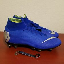 Nike Mercurial Superfly 6 Elite SG-Pro Soccer Cleats Blue AH7366-401 Men's 7.5