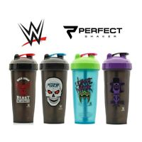 WWE Legends Protein Powder Gym Shaker Bottle - Large 800ml Blender Mixer Cup