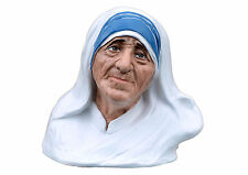 Saint Mother Teresa of Calcutta fiberglass statue cm. 35