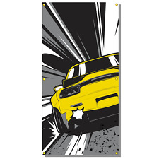 Status Error The Yellow One Workshop Banner (Mazda / RX7 / FD3s / Initial D JDM)