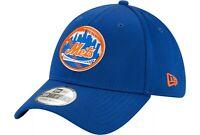 New York Mets Hat New Era 39Thirty 3930 NY MLB Baseball Cap Flex Fit S/M Blue