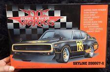 Nissan Skyline 2000Gt-R Street Gang Racer Model 1/24 Aoshima Model Kit