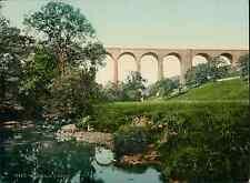Lake District. Smardale Viaduct. PZ vintage photochromie, photochrom photochro