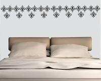 Pattern Wall Stickers  Damask Art Removable Home Decor Vinyl Decor Set of 24