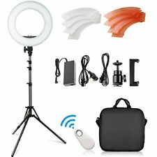 Ring Light Kit 14inch Outer/10inch Inner, 42W 5500K 180 LED Dimmable Light Kit
