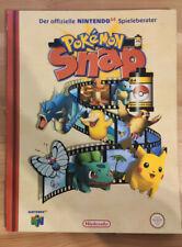 Pokémon Snap Spieleberater / Lösungsbuch / Nintendo 64 / N64 / Guide