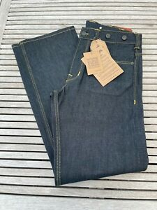 Pike Brothers 1937 Roamer Pant Jeans W 32 L 34 Metal 11 oz