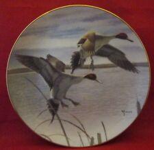 Migrants Collector Plate Ducks Taking Flight by Danbury Mint 1988