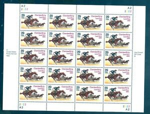 US 2754 Cherokee Strip Land Run, 1893, Sheet/20, Mint NH, Free Shipping