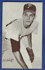 1947-66 Exhibits Art Mahaffey Philadelphia Phillies Blank Back EX