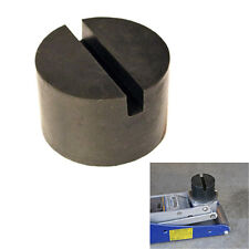 2Inch Slotted Frame Rail Floor Jack Disk Rubber Pad Adapter for Pinch Weld Side
