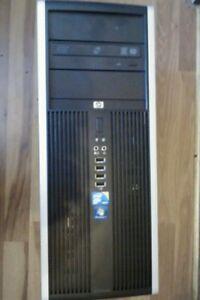 HP 8000 elite C2D win 7pro3GHz 2GB  250Gb DVD/RW win 7pro COA, WIFI