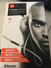 JBL Synchros Reflect BT In-Ear Bluetooth Sport Headphones Black