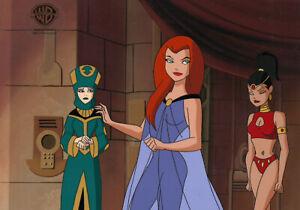 Superman Animated Series-Original Prod Cel/Drawing-Maxima/Sazu-Warrior Queen