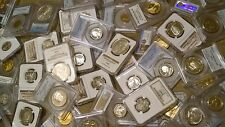 **Deluxe Coin Lot** Huge Variety - AT LEAST 8 DESIGNS - NGC / PCGS Silver, Proof