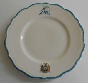 "Delaware & Hudson Railroad ""Adirondack"" Pattern China Plate 6 ½"""
