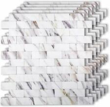 10-Sheet Peel and Stick Self Adhesive Backsplash Tiles 12