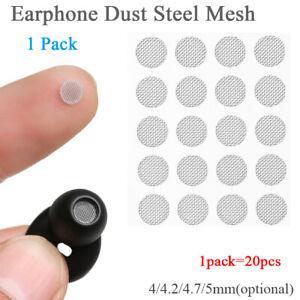 Earphone Accessories Filter Screen Dust Network Steel Mesh Dustproof Net