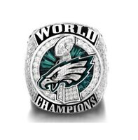 Hot-2017-2018 Philadelphia Eagles Ring Championship Ring High Quality Size 7-15